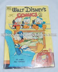 Comic Book: Vintage Walt Disney Comics & Stories #119 Aug. 1950 GD/VG
