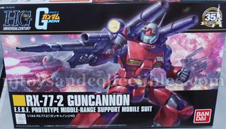 Gundam High Grade: RX-77-2 #190 Guncannon E.F.S.F Prototype