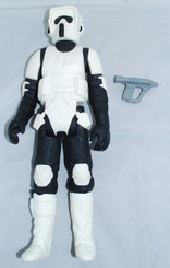 Star Wars Gentle Giant 12-Inch Vintage Style Biker Scout Action Figure with Blaster, Loose