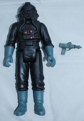 Star Wars Gentle Giant 12-Inch Vintage Style TIE Fighter Pilot Action Figure with Blaster, Loose