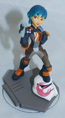Star Wars Rebels 4-Inch Sabine Loose Disney Infinity Action Figure