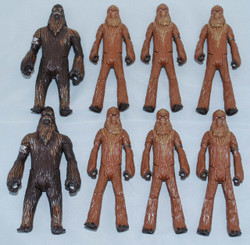 Star Wars 4-Inch Wookiee Army Loose Action Figure Set