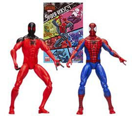 Marvel Legends Comic Book 3.75-Inch Action Figure 2-Pack Wave 2: Web Slingers