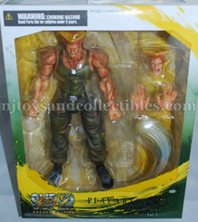 Street Fighter Plays Arts Kai Action Figure: Guile