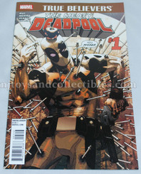 Marvel Comic Book: True Believers Meaty Deadpool #1