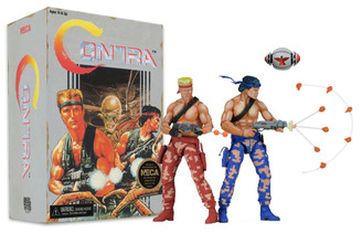 Contra Bill and Lance 7-Inch Action Figure 2-Pack (On Its Way!!)