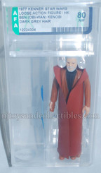 Star Wars Vintage 1977 Loose Obi-Wan Kenobi AFA Graded 80 NM