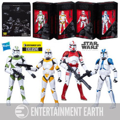 Star Wars EE Exclusive Clone Trooper 4-Pack