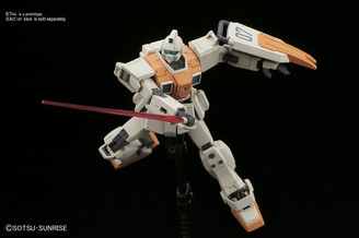 Gundam High Grade: GM Ground Type MS Gundam: 08th Team Model Kit