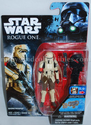 Star Wars Rogue One 3.75-Inch Wave 3: R1 ShoreTrooper Action Figure