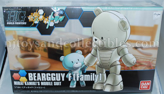 Gundam High Grade: Mirai Kamiki's Beargguy F[Family} Model Kit