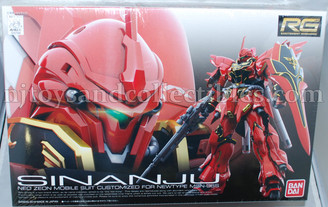 Gundam Real Grade: Sinanju Gundam UC Model Kit