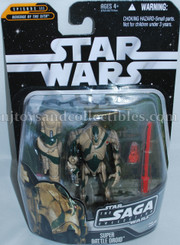 Star Wars Saga Collection Super Battle Droid Action Figure