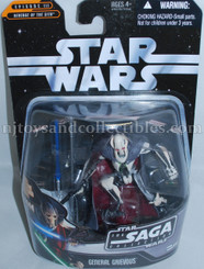 Star Wars Saga Collection General Grievous Action Figure