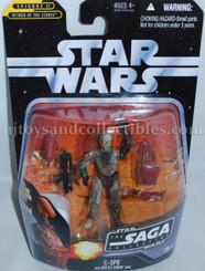Star Wars Saga Collection C-3PO with Battle Droid Head