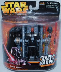 Star Wars ROTS Darth Vader Operation Table Playset, Not Mint
