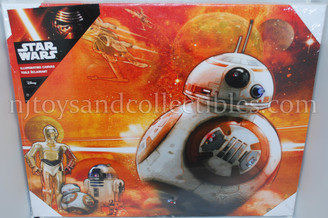 Star Wars BB8 Illuminated Canvas