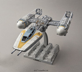 Star Wars Bandai Y-Wing Fighter Plastic Model