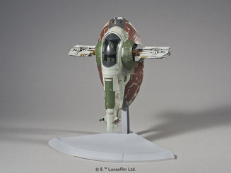 Star Wars Bandai Slave I Fighter Plastic Model