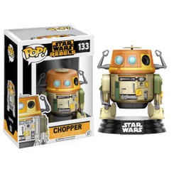 Funko Pop Vinyl Star Wars Rebels Chopper Figure