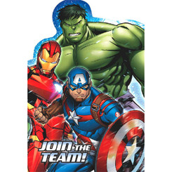 Marvel Epic Avengers Postcard Invitations (8 Count Pack)
