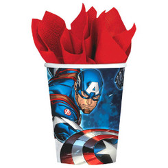 Marvel Epic Avengers 9oz. Paper Cups (8 Count Pack)