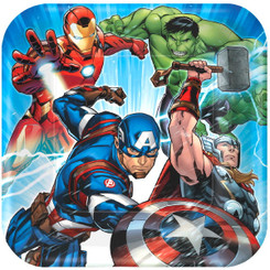 Marvel Epic Avengers 9-Inch Plates (8 Count Pack)