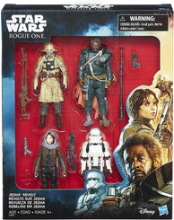 Star Wars Rogue One Jedha Revolt Four-Pack