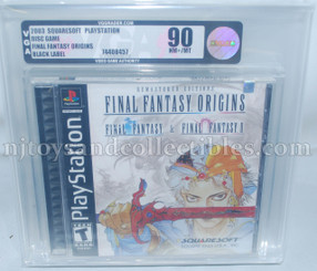 Playstation Final Fantasy Origins Black Label Video Game VGA90