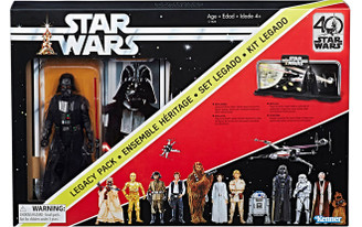 Star Wars 40th Anniversary Darth Vader Diorama Legacy Pack, Not Mint