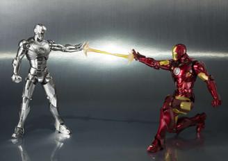 Bandai S.H.Figuarts Iron Man Mark II & Hall of Armor Set *WEB EXCLUSIVE*
