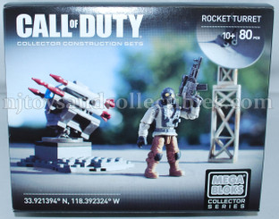 Call of Duty Mega Bloks Rocket Turret Construction Set
