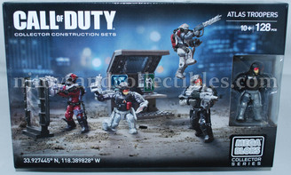 Call of Duty Mega Bloks Atlas Troopers Construction Set