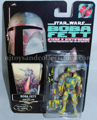 Star Wars Custom-Made Boba Fett in Sarlacc Pit Action Figure