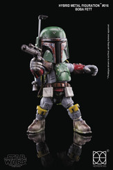 Star Wars Hybrid Metal Figuration Boba Fett Figure