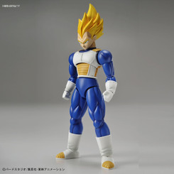 Dragonball Z Super Saiyan Vegeta Figure-rise Standard Model Kit
