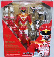 Power Ranger Red Hawk Choujin Sentai Jetman S.H.Figuarts **WEB EXCLUSIVE**