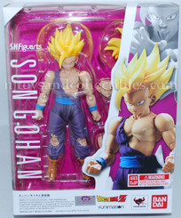 Dragonball Z Super Saiyan Son Gohan SH Figurats Action Figure