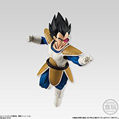 Dragon Ball Shodo 5 Vegeta 3.75-Inch Action Figure