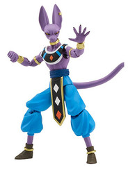 DRAGONBALL SUPER DRAGON STARS Lord Beerus Action Figure