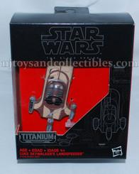 Star Wars Black Series Titanium Diecast Luke's Landspeeder