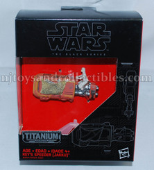 Star Wars Black Series Titanium Diecast Rey's Speeder