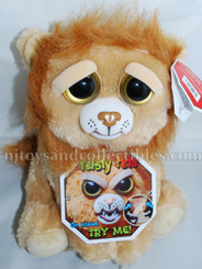 Feisty Pets: Marky Mischief Plush Golden Lion