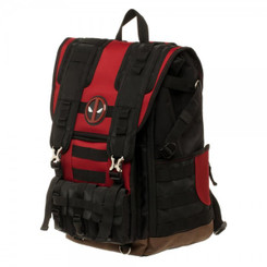 Marvel Deadpool Tactical Roll Top Backpack