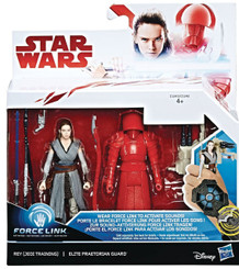 Star Wars The Last Jedi Rey & Praetorian Guard Action Figure 2-Pk