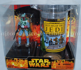 Star Wars Return of the Jedi Boba Fett with Collector's Cup