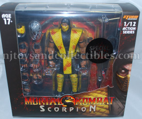 Mortal Kombat Special Edition Scorpion 1:12 Scale Premium Action Figure