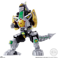 Power Rangers Super Mini Pla Dragonzord Shokugan