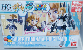 Gundam High Grade: Super Fumina A.E.U.G. Maid Version Model Kit