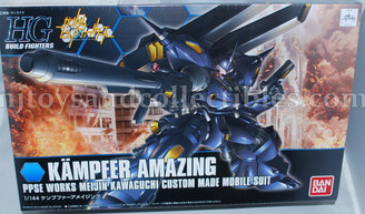 Gundam High Grade: Kampfer Amazing PPSE Works Custom Model Kit